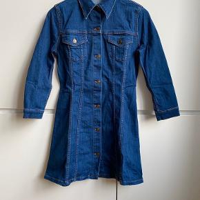 Zara premium denim collection mini shirt dress. Size S. Perfect condition, never worn.