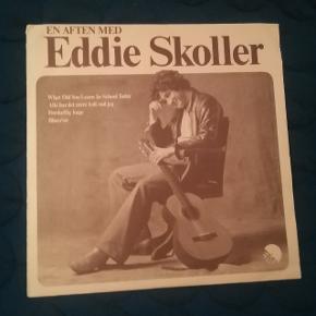 Vinylplade med Eddie Skoller Live-optagelse