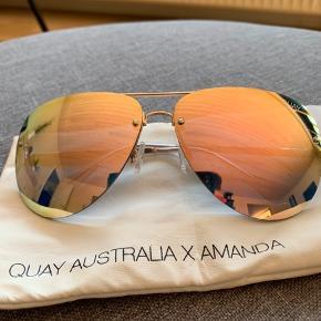 Super fede solbriller fra Quay Australia med spejl effekt