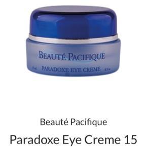 Beauté Pacifique Creme Paradoxe Eye Cream 15 ml. Aldrig åbnet.