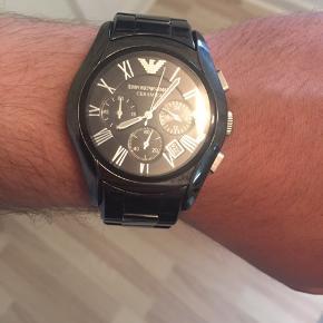Super flot ur fra Armani, brugt få gange.     Stone Island lacoste acne
