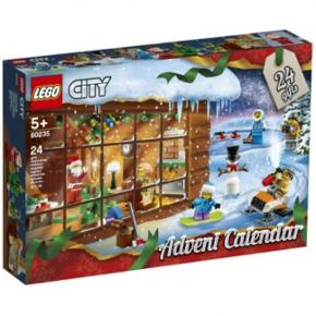 Nye Lego julekalender fra Lego City. Kan hentes i Esbjerg eller sendes for 40kr pr stk