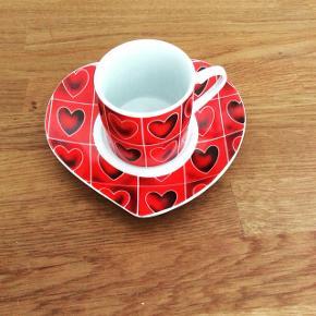 Porcelæns cappuccino kop