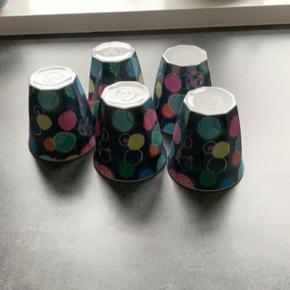Melamin kopper sælges Samlet eller hver for sig  10 kr stk og det er den store model
