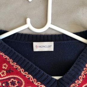 Super fed moncler knit trøje Mp 1000