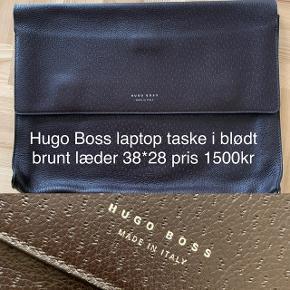 Lækker laptop taske i blødt skind 38*28. Nypris 4200kr