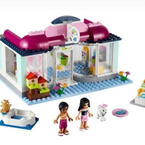 LEGO Friends heartlake hundesalon 41007  Alt er der, dog ikke kasse og samlevejledning. Vejledning findes på nettet.