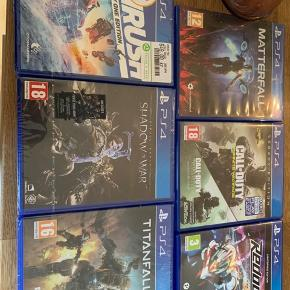 Blandede spil til PlayStation 4 Fifa 16, Call of Duty etc.  Kom med et bud 🤙🏽