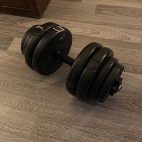 2x14,3kg håndvægte