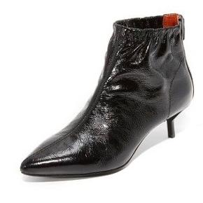 """De fineste ankelstøvler fra Philip Lim. Brugt få gange og derfor i meget fin stand. Sælges med original kasse og ekstra sorte """"dutter"""" til stilethælen.  Nypris ca. 5000 kr."""