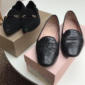 To stk skønne loafers fra både Billi Bi og Pretty Ballarina sælges. Prisen er pr stk. Sender med DAO