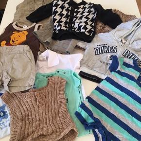 Stor Tøjpakke str 0-3 mdr. Bukser, bluser, cardigan, dragt, vest osv.