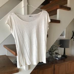 Hvid Acne t-Shirt