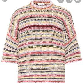 Flot kortærmet let oversize sweater Jeg bruger normal str. 38 Brugt et par timer Aldrig vasket el renset