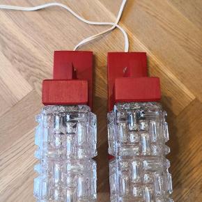Retro væglamper