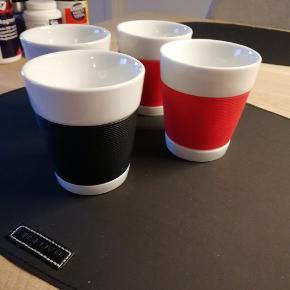 Bodus krus 2 STK rød og 2 STK sorte