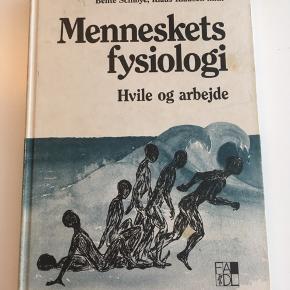 Menneskets fysiologi. Ældre udgave, men stadig brugbar. 10 af siderne er overstreget. Hvis du gerne vil købe andet jeg sælger, går jeg gerne ned i samlet pris.