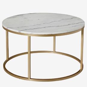 Marmor sofabord fra Ellos Home Ny pris 3000 Har småridser i pladen, men ikke særlig synlige