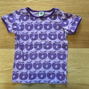 Varetype: T-shirtFarve: Lilla  Lilla Småfolk t-shirt str 2-3 år.  Brugt men god stand.  Alm. Fnuller og farvetab efter brug.  Sendes med DAO A 33 kr.  Ved ts handel betaler Køber ts gebyr.