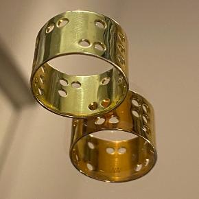 Fedeste LULU COPENHAGEN ring, str.52, 18 karat guldbelagt, ingen brugstegn