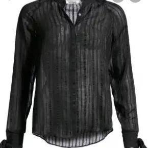 Elegant sort bluse skjorte fra co'couture. Str. Small