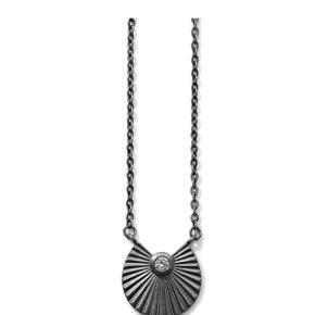 Fineste Line & Jo halskæde med lille brilliant i silkemat sterling sølv. Brugt et par gange. Nypris 2.100,- Kom med bud....