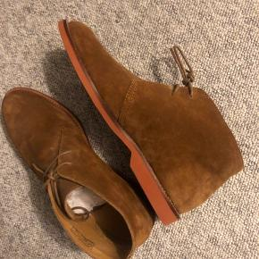 Helt nye lækre læder støvler fra polo Ralph lauren