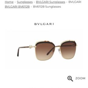 Helt nye solbriller fra Bulgari i modellen serpenti BV6112-B str 57. Kvittering og boks medfølger.