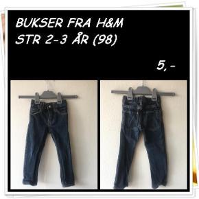 Bukser fra h&m str 2-3 år