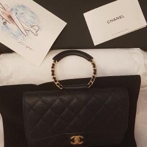 Helt ny WOC i sort caviar med alt til. Kvittering købt i maj 2020, dustbag,  camellia ribbon, box. Standen 10/10 Nypris 20.350 Prisen er fast.