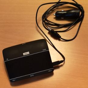 Jabra freeway. trådløs til bilkørsel. Bluetooth opkobling. Ca. 1/2-1 år gammel. Sælges kun pga ny funktion i bil. Virker upåklagelig. Snak trådløst i tlf med denne, som du kan sætte fast på fx solskærmen i bilen.