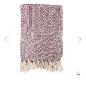 Virkelig fint tæppe. Brugt på sofaen. Vasket en enkel gang. Fremstår i flot stand.
