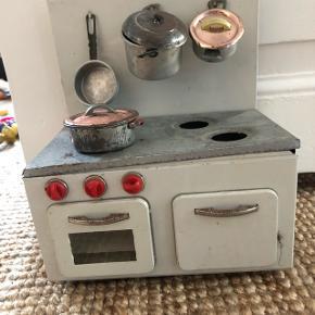 Vintage samler sæt - zink køkken