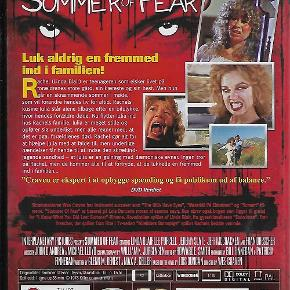 7076 Summer of fear (DVD)  Dansk Tekst - I FOLIE