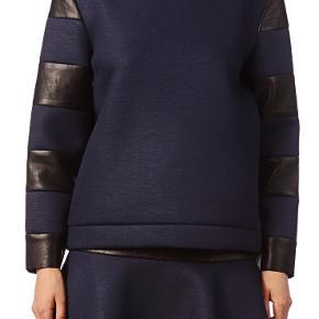 #Secondchancesummer  Lækreste sweatshirt med ægte læder