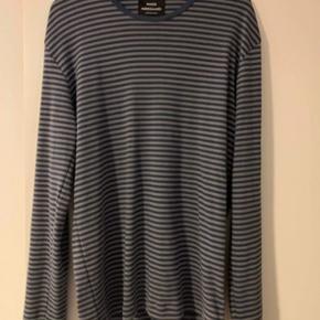 Mads Nørgaard langærmet bluse - large Klassisk stribet Mads Nørgaard bluse, aldrig brugt eller vasket.