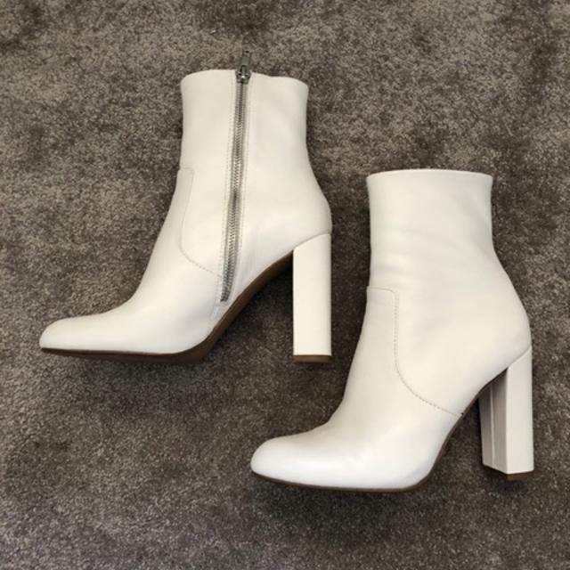 Højhælede Cowboystøvler Hvid Kvinde
