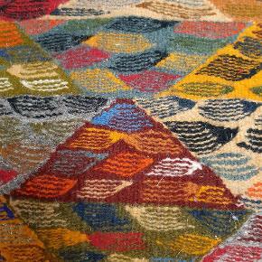Håndlavet vævet pude  Måler 45x45cm