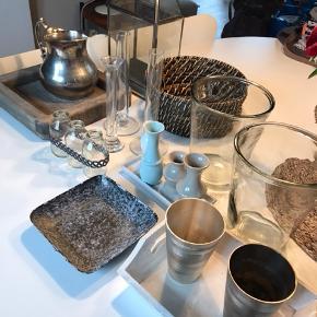 Forskellig bolig Decor kom med bud. Lanterne, vase, bakke, osv.  Tine K, Holmegaard, Broste osv. ☀️