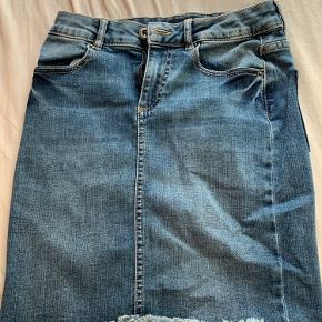 Mega fin demin nederdel fra pieces!