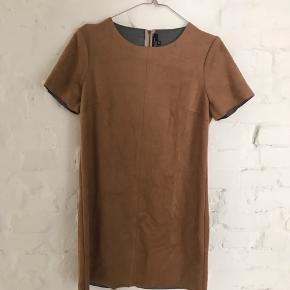 suede dress fra new look. passer en størrelse S/M men vil også være fin oversize til en XS ✌🏼