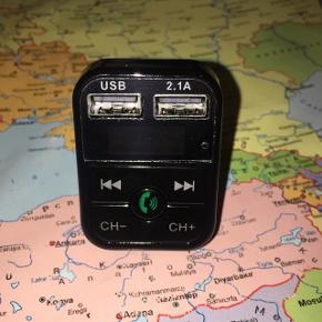 Transmetteur FM/Bluetooth avec chargement usb et mains libre