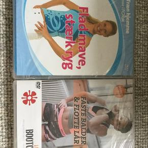 2 stk Træn hjemme DVD fra iForm.  Gives bort til en der køber en af de varer, jeg har til salg.