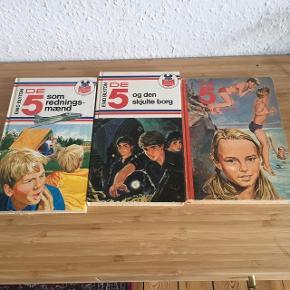 De 5 bøger20kr stykket  - fast pris -køb 4 annoncer og den billigste er gratis - kan afhentes på Mimersgade 111 - sender gerne hvis du betaler Porto - mødes ikke ude i byen - bytter ikke