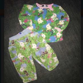 92 Molo sæt kaniner Tøjpakke tøjpakker blå grøn hvid pink