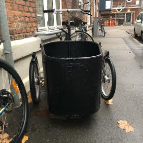 Sælger min nihola ladcykel, da den blev brugt som transportmiddel for mig og min hund. Helt nyt gear 1-5 nye tandhjul, pedaler, kæde og 2 nye hjul.  Skriv for mere info