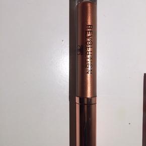 Flot bronzefarvet lipgloss fra Makeup revolution. Prøvet en enkelt gang.