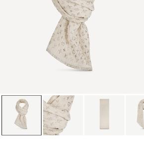 Helt nyt Louis Vuitton tørklæde.  Aldrig brugt - Kasse, pose, kvittering og alt medfølger