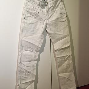 Ubrugte hvide bukser fra Entry  Str. 146/10-11 år Hvid Aldrig brugt  20kr