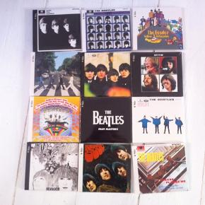 Beatles cd'er. Stadig i plast indpakning.  Cover i pap